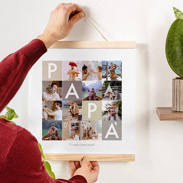 Poster Collage Papà